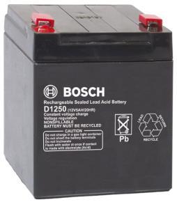 D1250 Battery (12 V, 5 Ah)